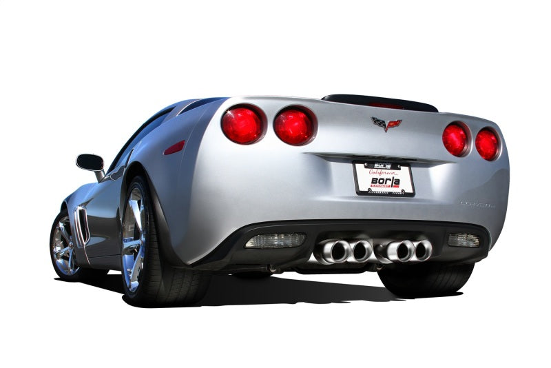 Borla 09-12 Corvette Coupe/Conv 6.2L 8cyl 6spd RWD inS-Type IIin Exhaust (rear section only)