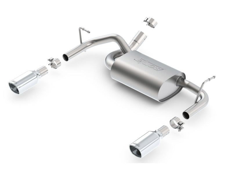Borla 12-16 Jeep Wrangler 3.6L AT/MT 4WD Single Split Rr Exit Touring Exhaust (rear section only)