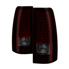 Load image into Gallery viewer, Xtune Chevy Silverado 1500/2500/3500 99-02 LED Tail Lights Red Smoke ALT-ON-CS99-LED-RS