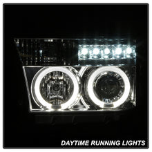 Load image into Gallery viewer, Spyder Toyota Tundra 07-13 Projector Headlights LED Halo LED Chrm PRO-YD-TTU07-HL-C