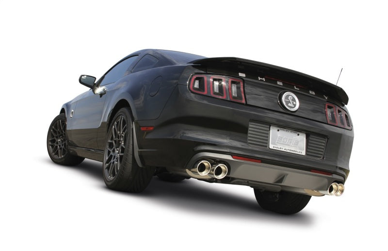 Borla 13-14 Mustang Shelby GT500 GT 5.8L V8 RWD Dual Split Rear Exit ATAK Exhaust Rear Section Only