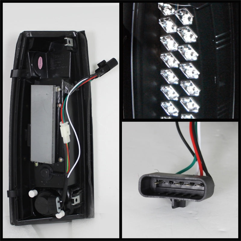 Spyder Chevy C/K Series 1500 88-98/Blazer 92-94 LED Tail Lights Blk ALT-YD-CCK88-LED-BK