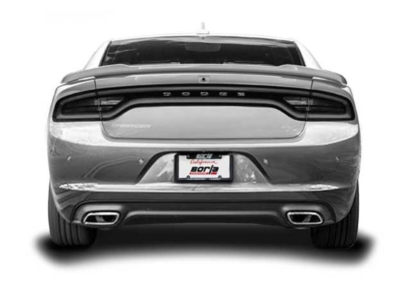 Borla 15-16 Dodge Charger R/T 5.7L No Tip Use Factory Valence Single Split Rear Exit ATAK Exhaust