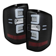 Load image into Gallery viewer, Spyder Chevy 1500 14-16 Light Bar LED Tail Lights Blk ALT-YD-CS14-LBLED-BK