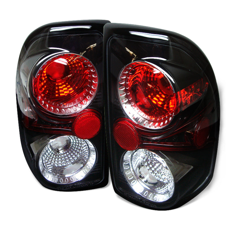 Spyder Dodge Dakota 97-04 Euro Style Tail Lights Black ALT-YD-DDAK97-BK