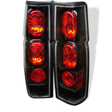 Load image into Gallery viewer, Spyder Nissan Hardbody 86-97 Euro Style Tail Lights Black ALT-YD-NH86-BK