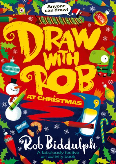 Draw With Rob at Christmas