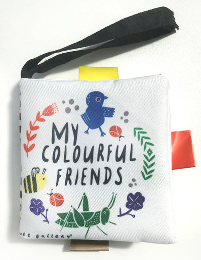 Wee Gallery Buggy Books: My Colourful Friends