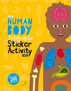 My Human Body Infographic Sticker Activi