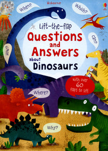 Lift The Flap Q&A About Dinosaurs