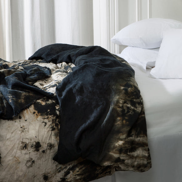 Deep Space Linen Duvet