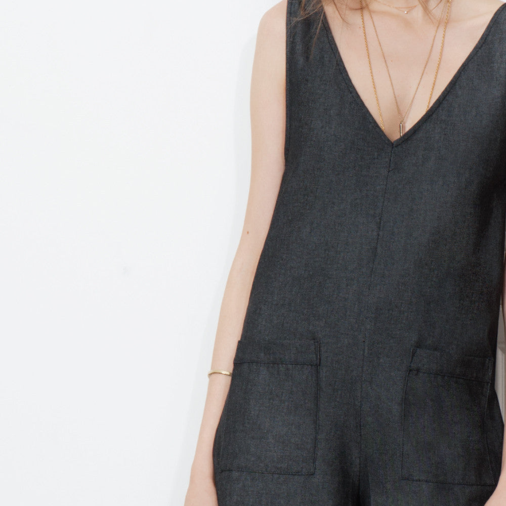 Thierry Romper - Black