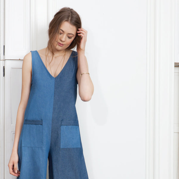 Thierry Romper - Blue