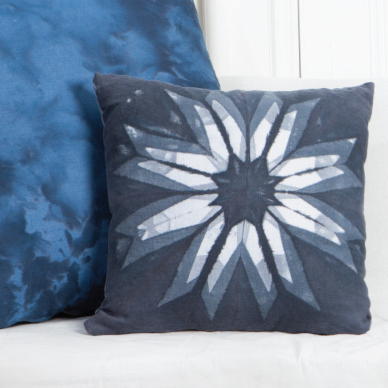 Flower Itajime Pillow