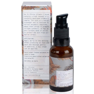 Anti aging vitamin C serum with hyaluronic acid, 30 ml