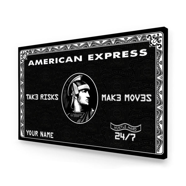 Personalized Amex - Limited Edition