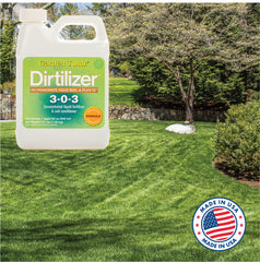 Perfect lawns with Dirtilizer