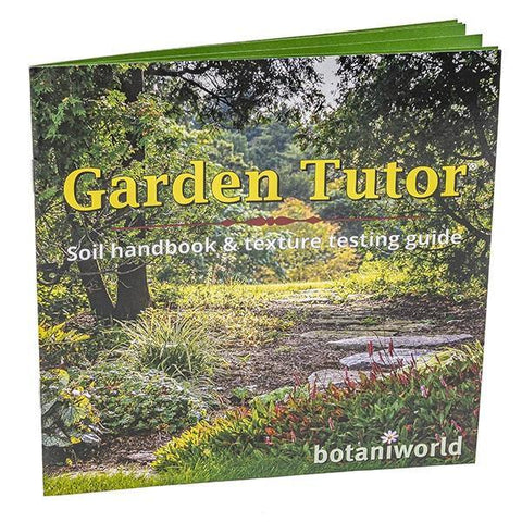 Garden Tutor Soil Texture Jar Test & Handbook Kit - Garden Tutor/Botaniworld, LLC