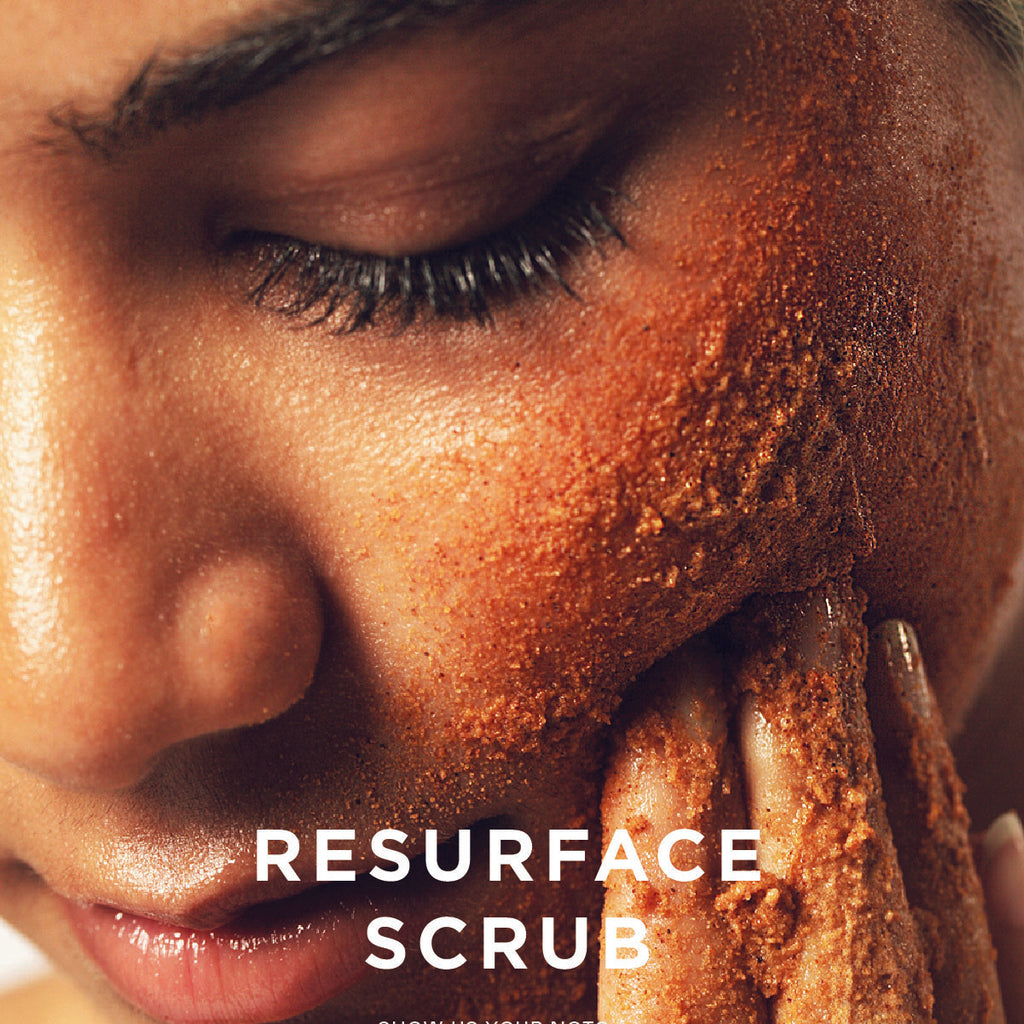 Resurface scrub in use Troupe