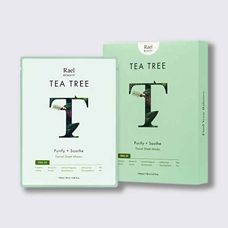 Tea Tree Purify + Soothe Sheet Masks (5 Pack)