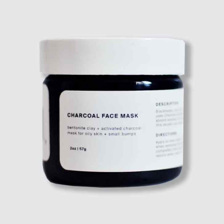 Charcoal Mask for Smooth Skin