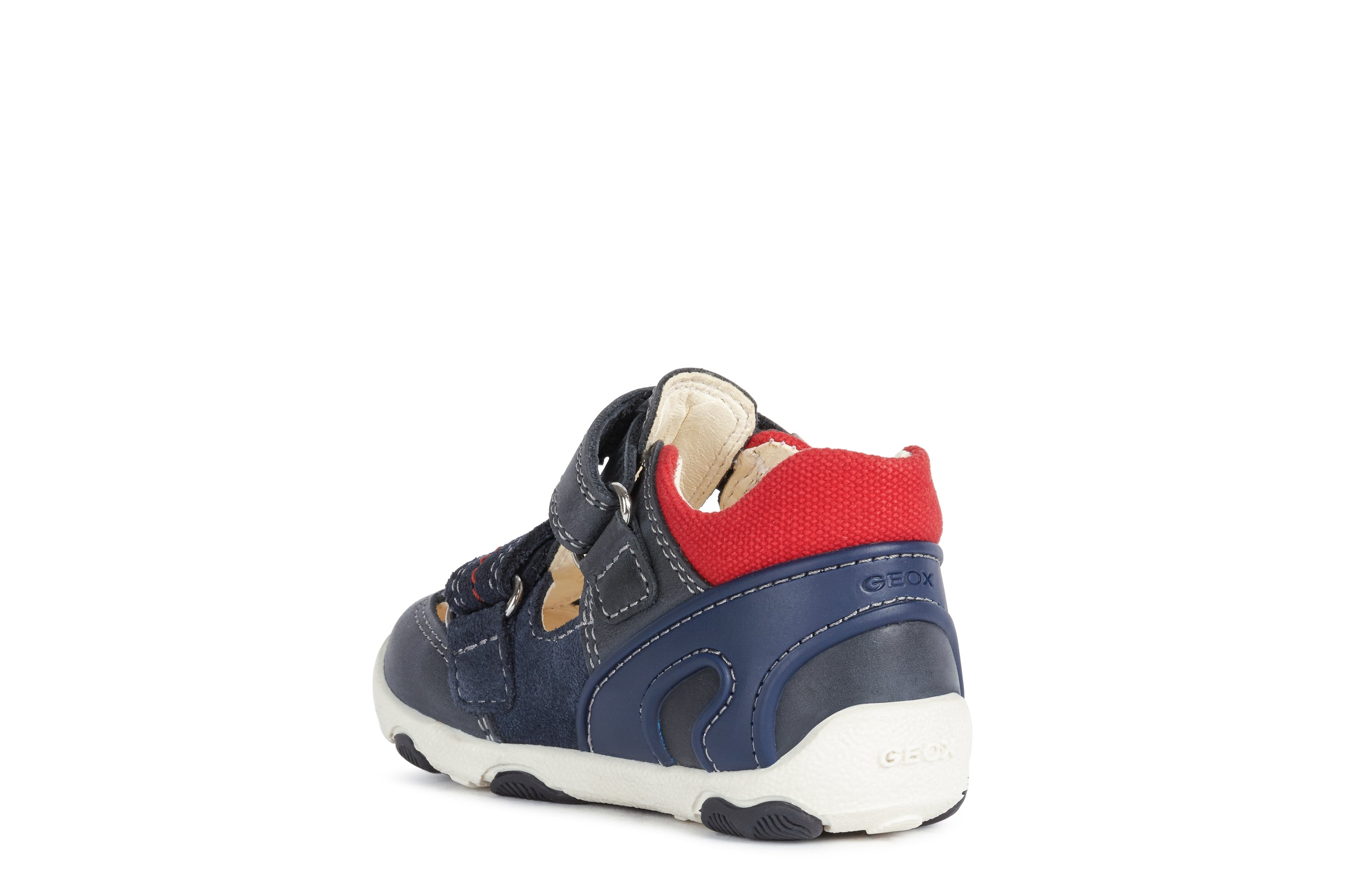GEOX B150PA NAVY/RED
