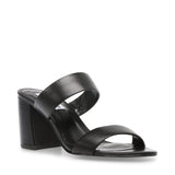 STEVE MADDEN AMALINA BlACK LEATHER 121744