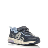 GEOX J048VB NAVY/SKY DISNEY FROZEN BLUE J SPACECLUB G OAJHS C4231