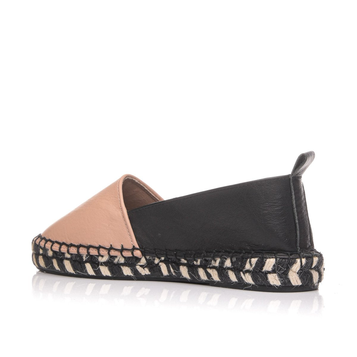 CLARA DURAN ESPADRILLES LEATHER MULTI