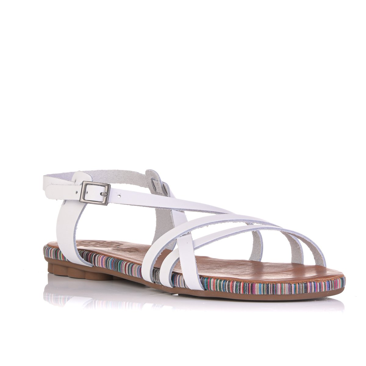 PORRONET  FI2513 LEATHER BIANCO