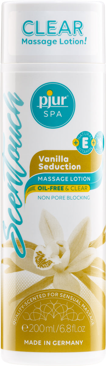 Pjur SPA ScenTouch Vanilla Seduction - 200ml Bottle
