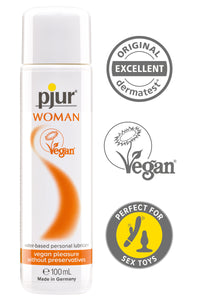Pjur Woman Vegan - 100ml Bottle