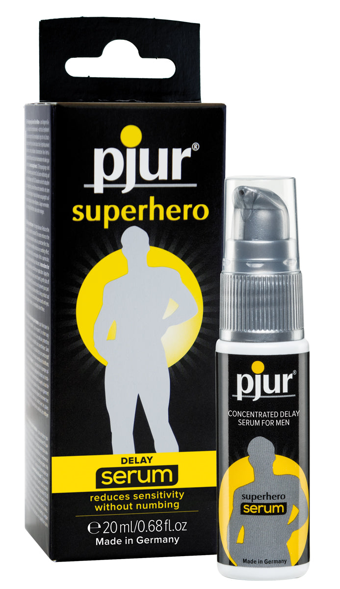 Pjur Superhero Delay Serum - 20ml Pump Bottle