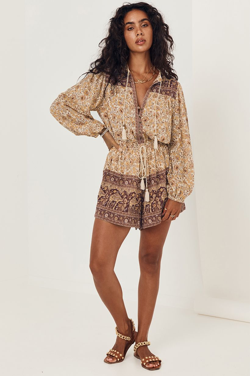 SUNDOWN ROMPER SPICE