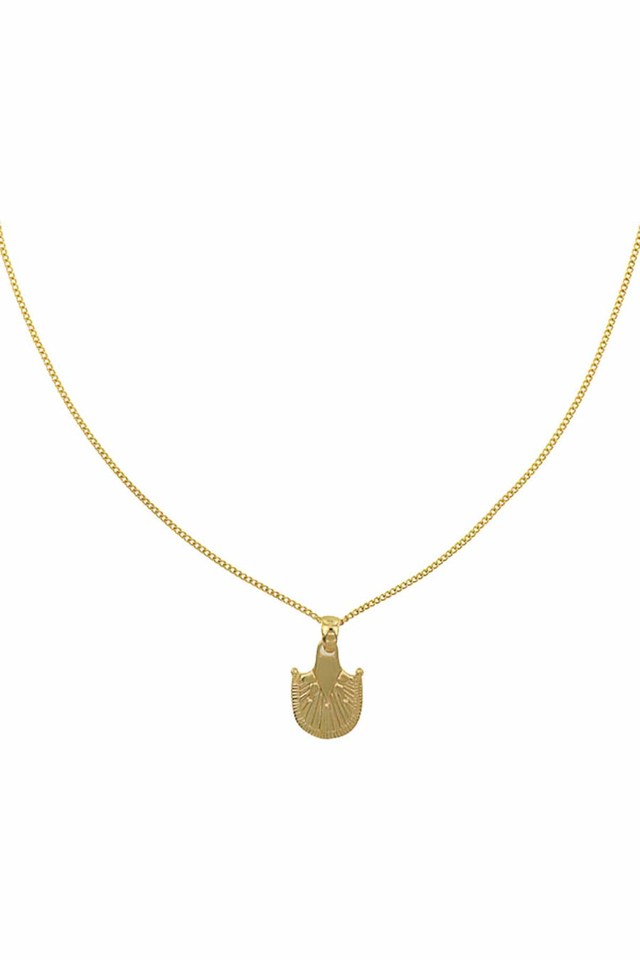 OASIS PALM NECKLACE GOLD