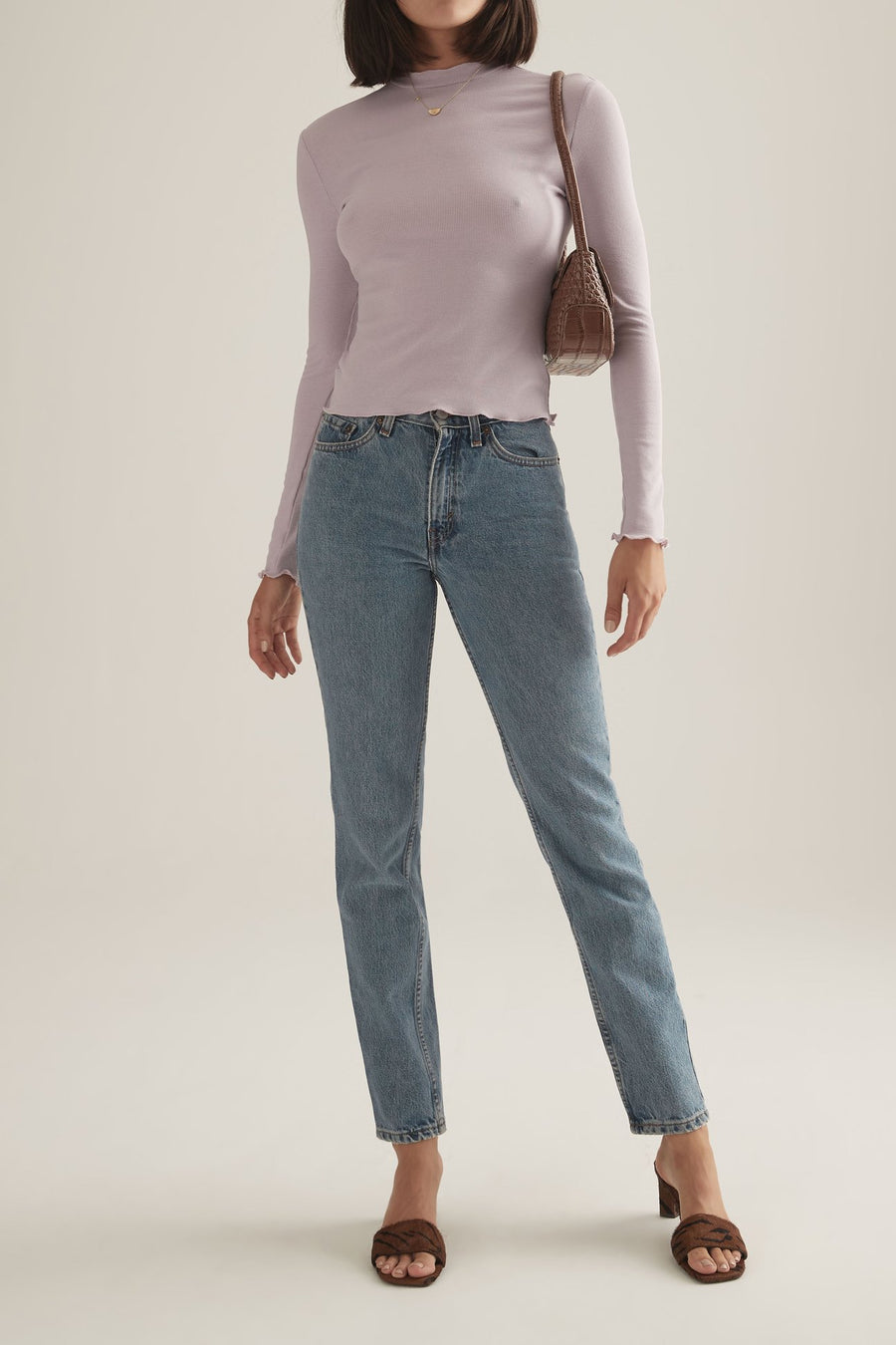 KARLY TURTLENECK LILAC