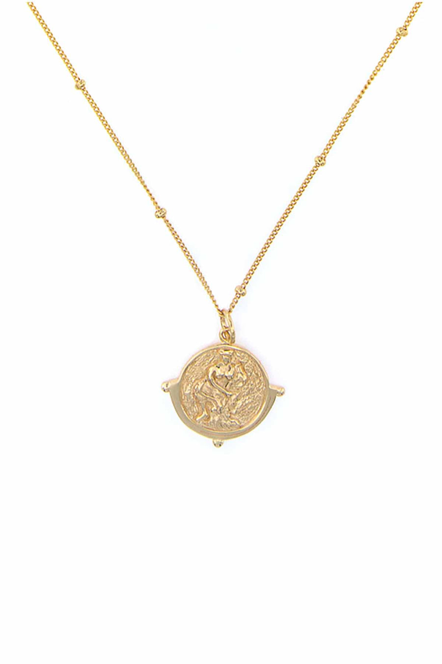 SALACIA PENDANT NECKLACE GOLD