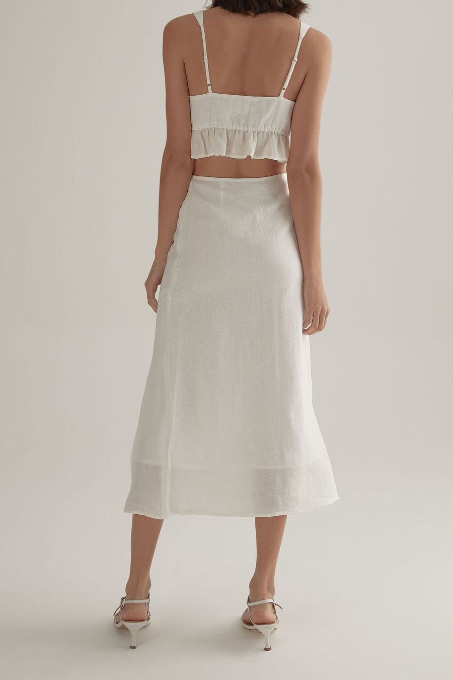 LOTTIE SKIRT WHITE