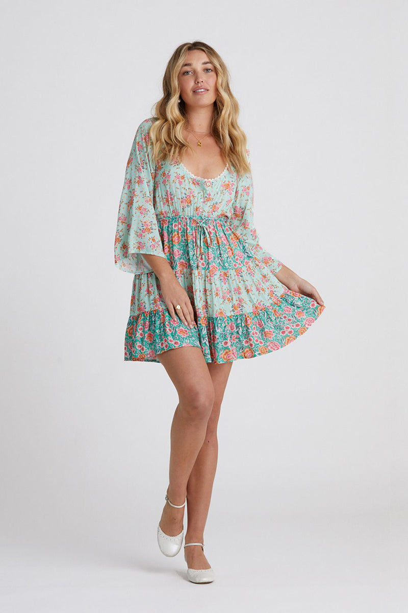 HARMONY MINI DRESS MINT