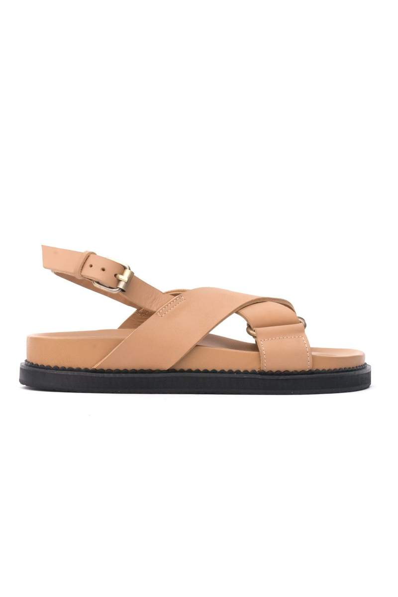 THE ALILA SANDAL TAN