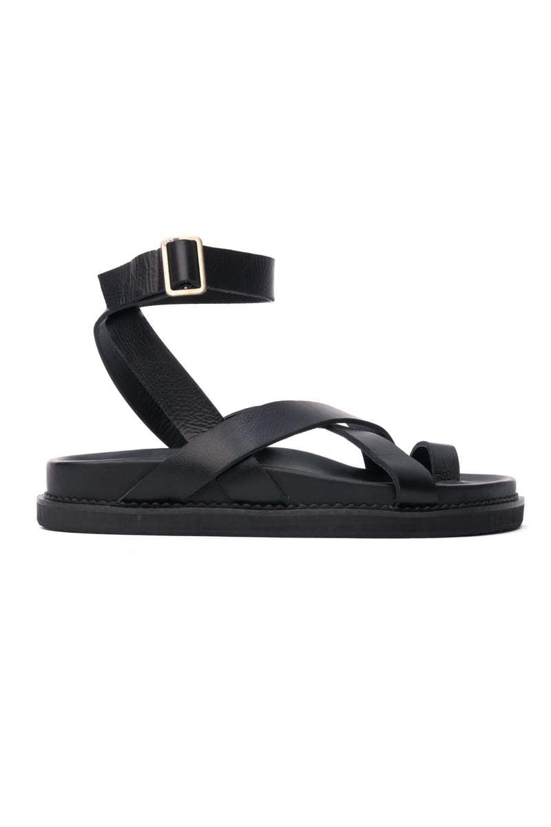THE LENI SANDAL BLACK