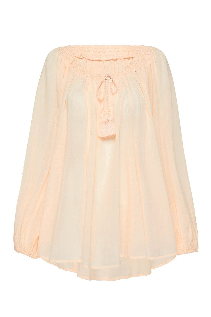 HONEY BLOUSE PEACH