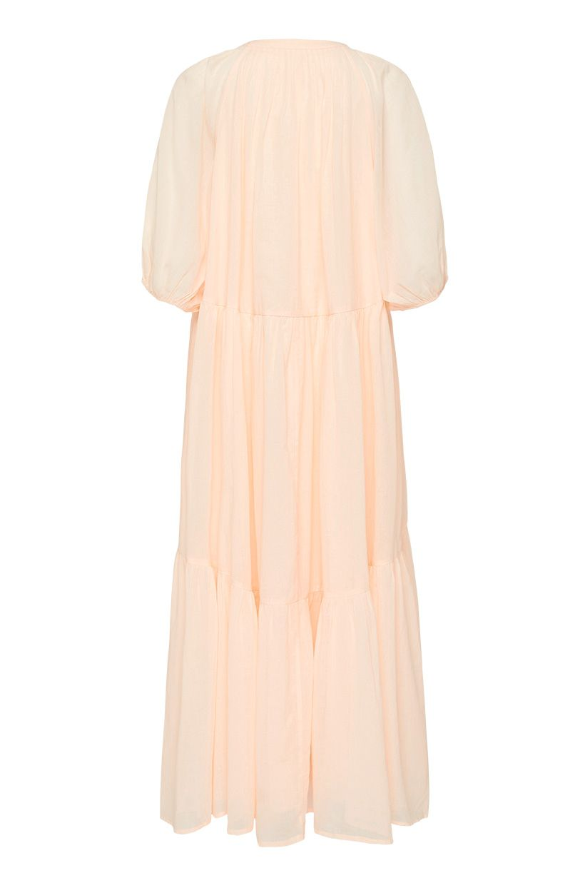 HONEY SMOCK DRESS PEACH