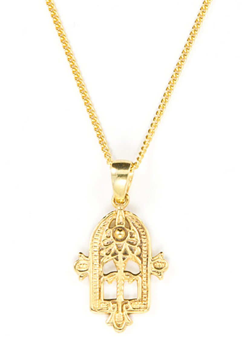 EASTERN AMULET NECKLACE GOLD