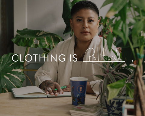 Clothing Is Political: Sonia Guiñansaca