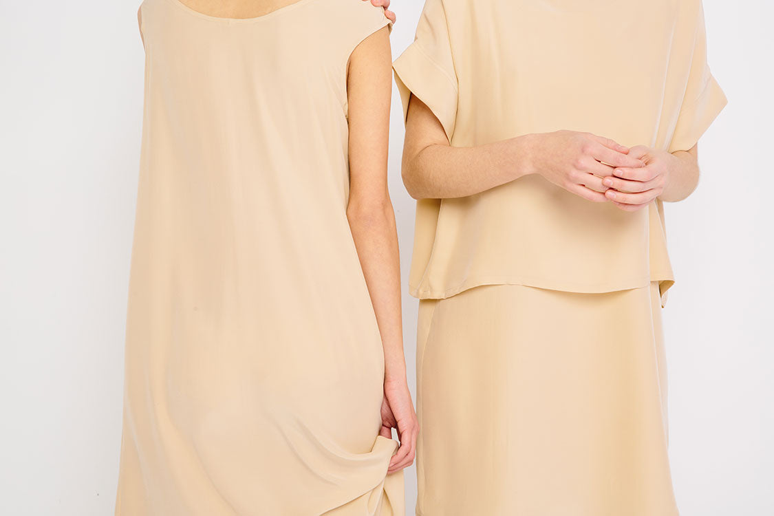 HOVER2_[a href=|/collections/signature/products/marlena-midi-silk-crepe|]Marlena Midi [Nude Silk Crepe][/a] + [a href=|/collections/signature/products/georgia-tee-silk-crepe|]Georgia Tee [Nude Silk Crepe][/a]