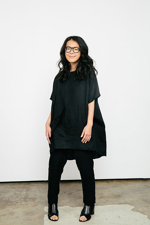 HOVER2_[a href=|/collections/signature/products/harper-tunic-linen|]Harper Tunic [Black Midweight Linen / OS Minus][/a] + [a href=|/collections/signature/products/tilda-pant-linen|]Tilda Pant [Black Midweight Linen / X-Small Short][/a]
