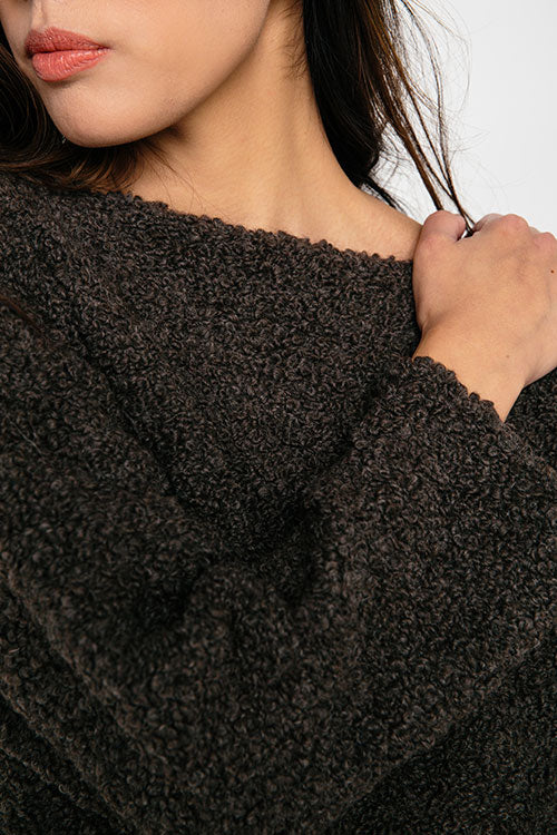 HOVER2_Billie Sweater [Loam Textured Wool/Alpaca]