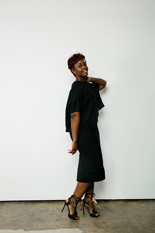 HOVER2_[a href=|/collections/signature/products/linn-tee-linen|]Linn Tee [Black Midweight Linen / OS][/a] + [a href=|/collections/signature/products/elise-dress-stretch-cotton|]Elise Dress [Black Stretch Cotton / 10 Regular][/a]