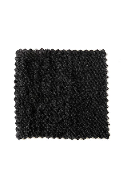 Black Linen Gauze by the Yard